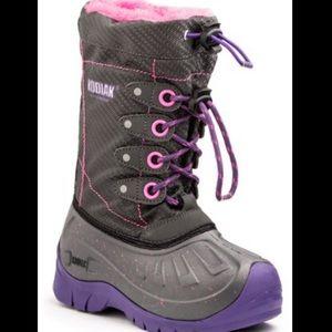Kodiak Cali Gray Lined Winter Boots 11 NWT
